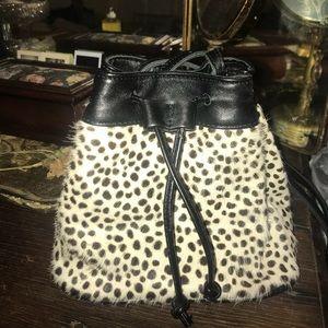 Brandy Melville leopard cheetah purse